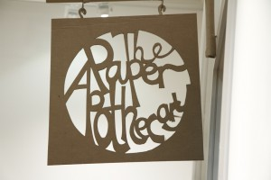 The Paper Apothecary Paper Sign